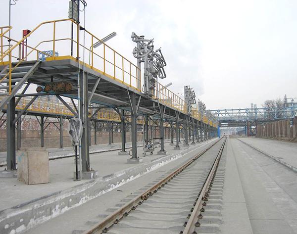 交付使用的钢平台