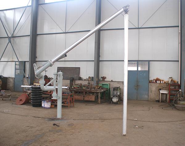 DN100铝质卸油鹤管